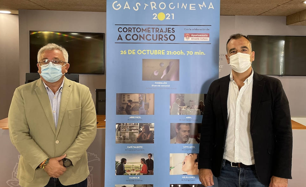 Ocho cortos de temática culinaria compiten en la primera edición de Gastro Cinema