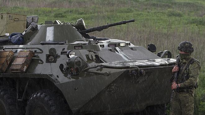 Mueren seis soldados en una emboscada de separatistas cerca de Krematorsk