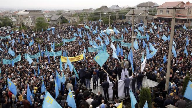Los tártaros de Crimea denuncian discriminación y exigen el derecho a la autodeterminación