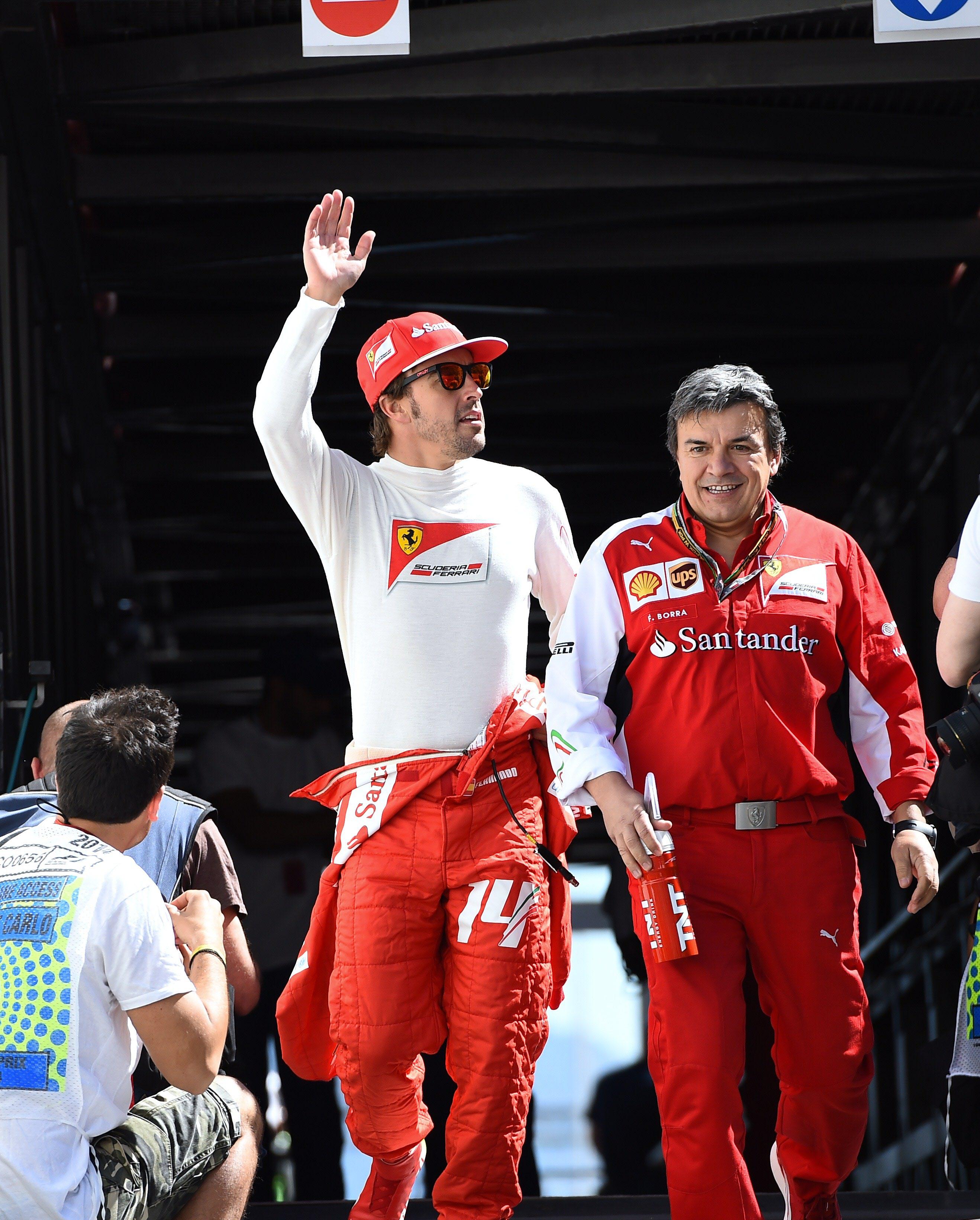 Alonso dará la salida de Le Mans