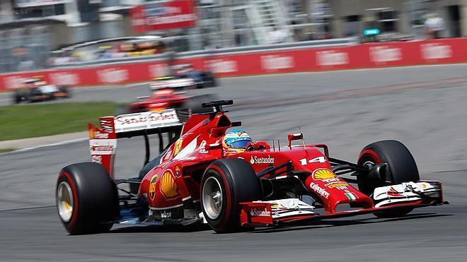 Fernando Alonso: «Era como ir con lastre»