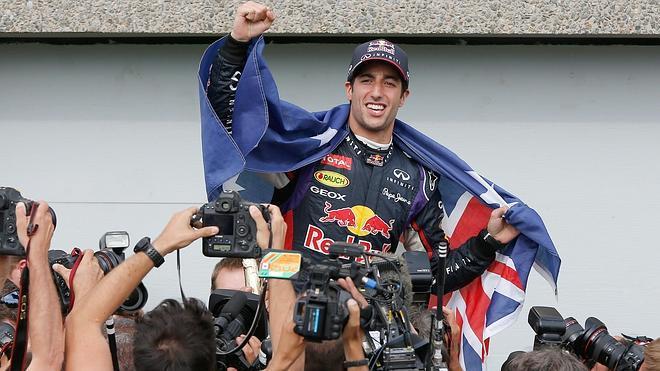 Ricciardo, el hijo de la anarquía