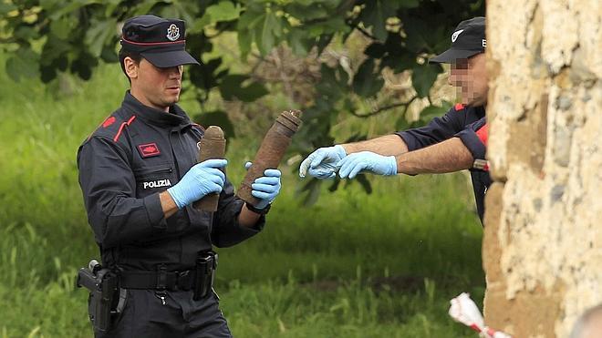 Hallan 300 artefactos en la casa de Muskiz donde este sábado explosionó un obús