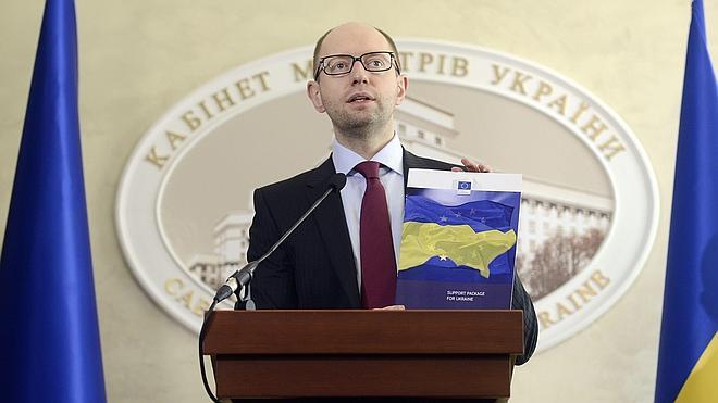 El Parlamento ucraniano rechaza la dimisión del primer ministro Yatseniuk