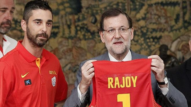 Rajoy: «Vivimos la mejor etapa del baloncesto»