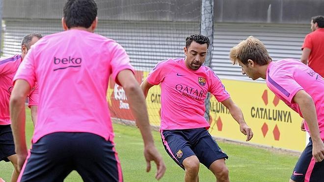 Xavi, lesionado
