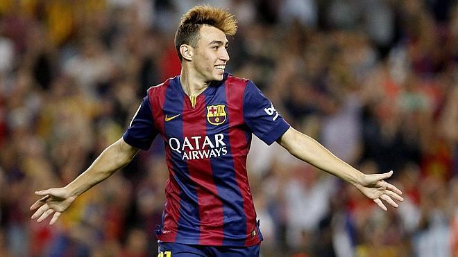 Munir, el 'Raúl' del Barça
