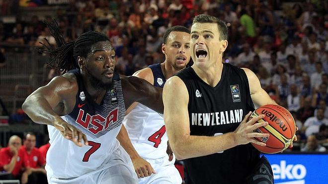 Estados Unidos vence a Nueva Zelanda