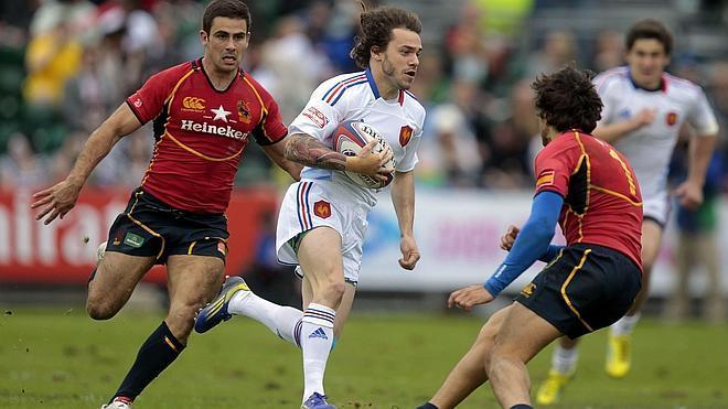 El equipo español de rugby, quinto en el Campeonato de Europa