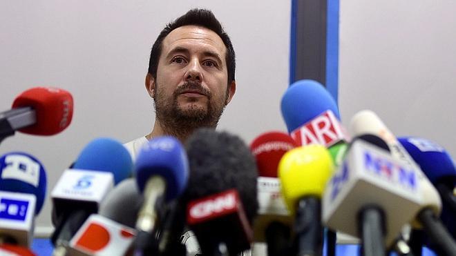 El marido de Teresa Romero: «No acepto el perdón del consejero de Sanidad»