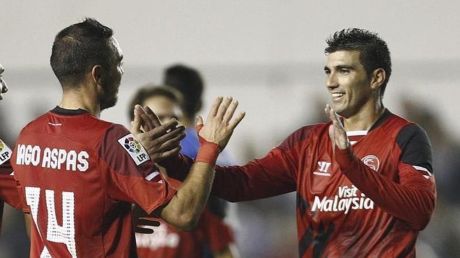 El Sevilla vence por la vía rápida