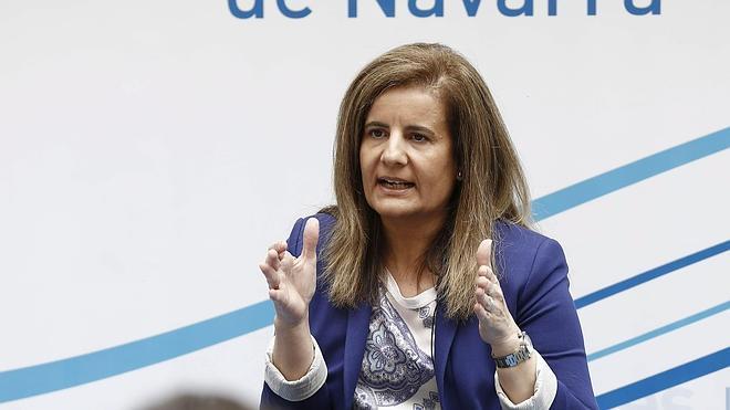 Fátima Báñez avanza que los datos de empleo de octubre serán positivos