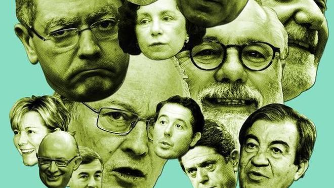 El triste destino de los ministros de Aznar