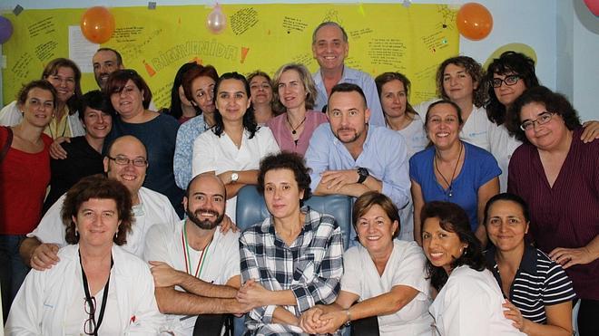 Teresa Romero vive «muy feliz» sus primeras horas fuera del aislamiento