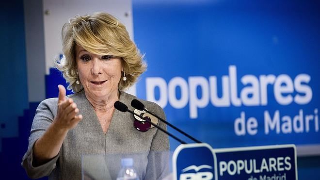 Esperanza Aguirre da su receta contra la corrupción