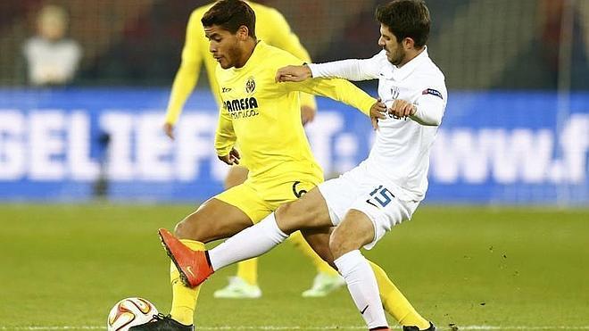 El Villarreal pierde crédito en Suiza