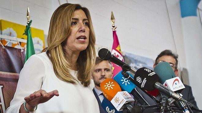 Díaz reafirma su confianza en la honestidad y honradez de Chaves y Griñán