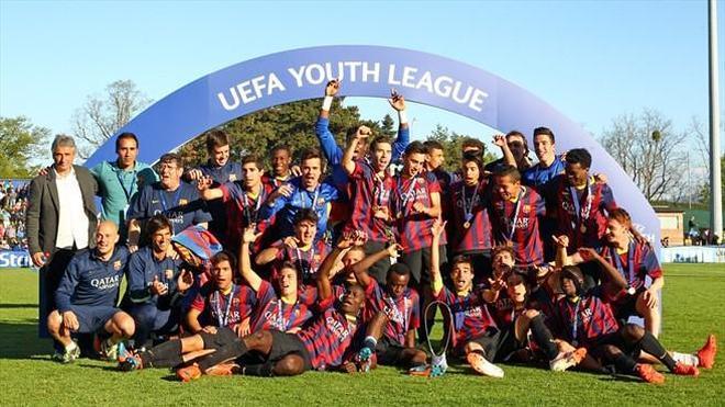 La UEFA Youth League, el torneo de las futuras estrellas