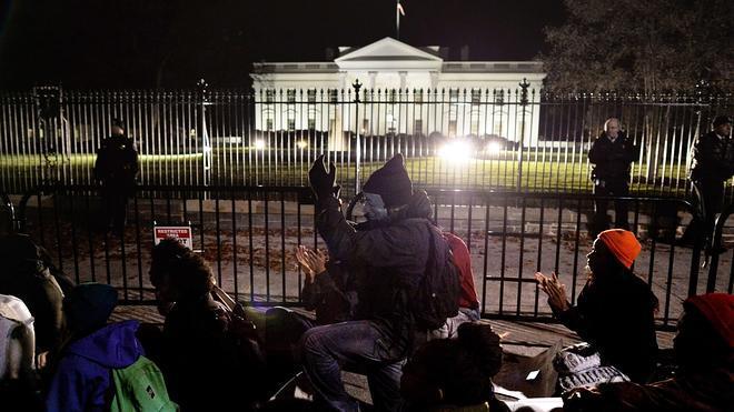 La indignación de Ferguson se extiende a 170 ciudades en todo Estados Unidos