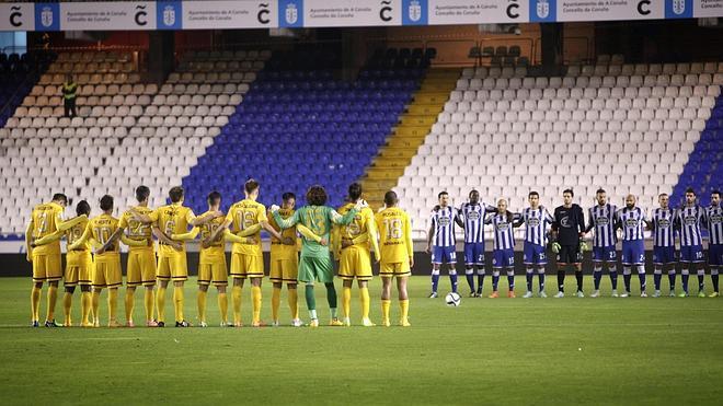 Dépor y Málaga empatan en un partido con poco fútbol
