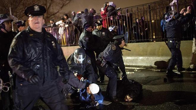 Vuelven las protestas en EE UU contra la violencia policial