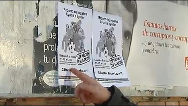 Reparten juguetes solo para niños españoles en un municipio de Madrid