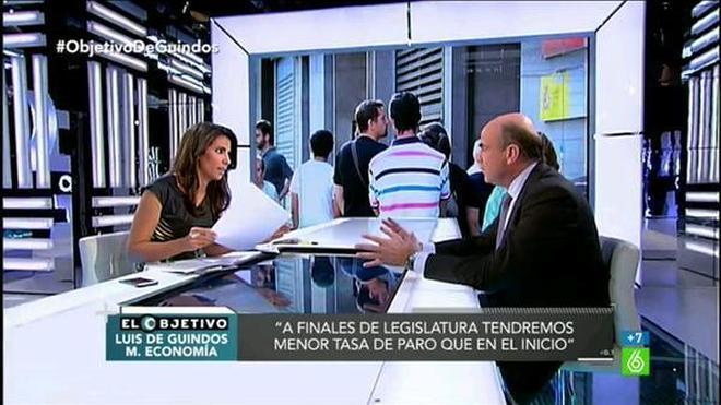 De Guindos asegura que el plan económico de Podemos sacaría a España del euro