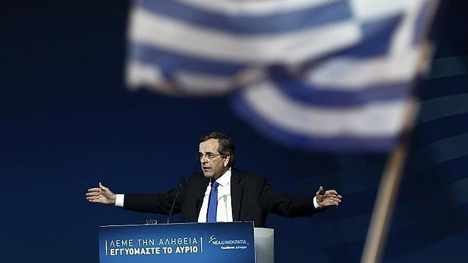 Andonis Samarás, de opositor a firme defensor del programa de rescate griego