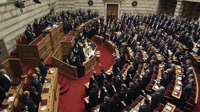 El Parlamento griego abre su primera legislatura con mayoría izquierdista