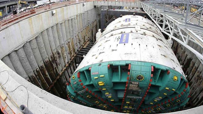 Seattle se moviliza para rescatar la tuneladora española 'Bertha'
