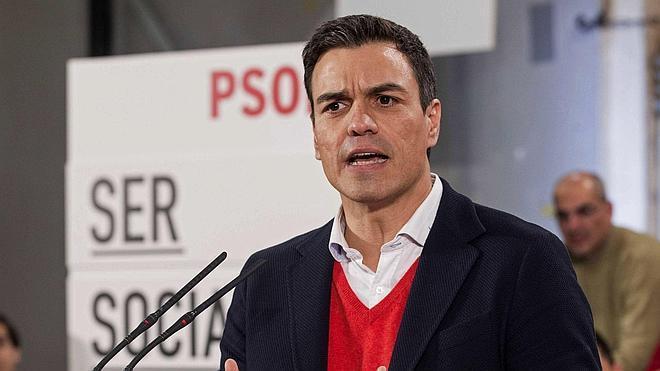 Pedro Sánchez: «Ya estamos cambiando el PSOE»