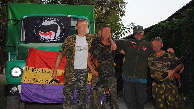 Libertad con cargos para los ocho combatientes españoles retornados del conflicto de Ucrania