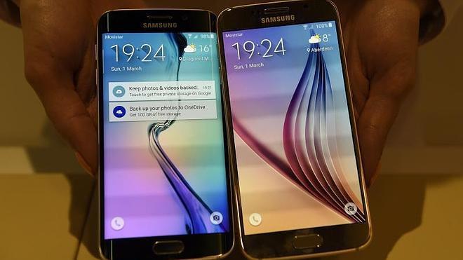 Samsung le pone curvas al nuevo Galaxy S6