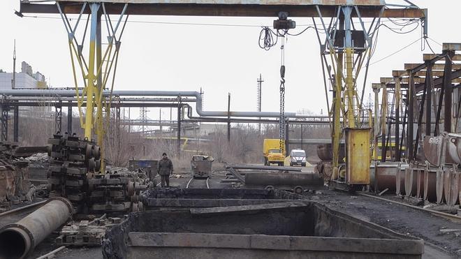 Diez muertos en un accidente en una mina en Donetsk