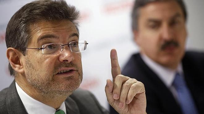 Catalá descarta devolver el dinero cobrado con las tasas porque se recaudó legalmente