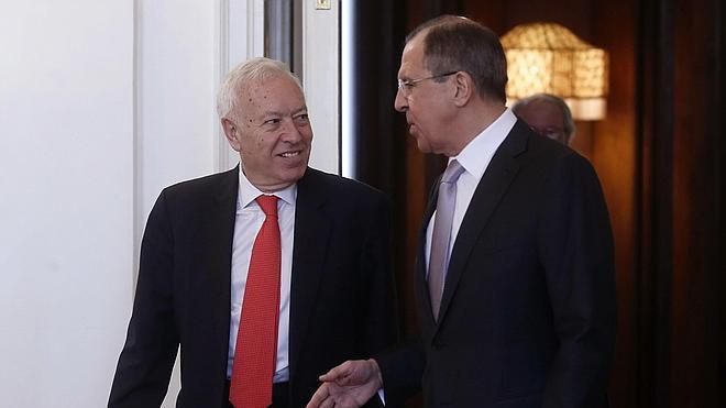 Lavrov agradece a Margallo la postura «contenida» de España sobre las sanciones