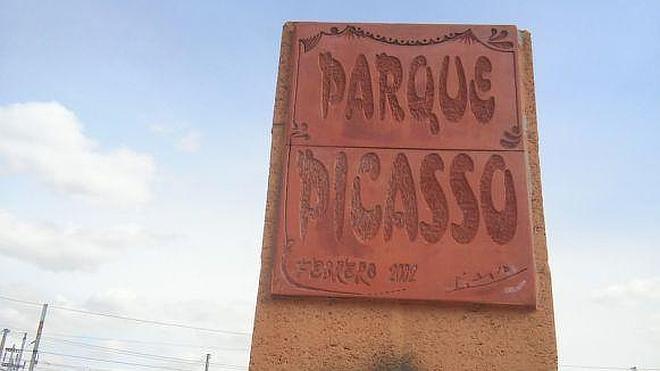 Cambian el nombre de un parque dedicado a Picasso por el de un alcalde franquista