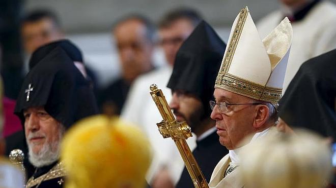 El Papa reconoce el «genocidio» armenio