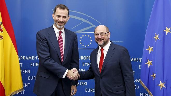 Felipe VI intervendrá en los próximos meses ante la Eurocámara