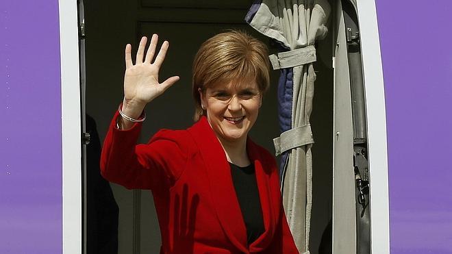Los nacionalistas arrasan en Escocia