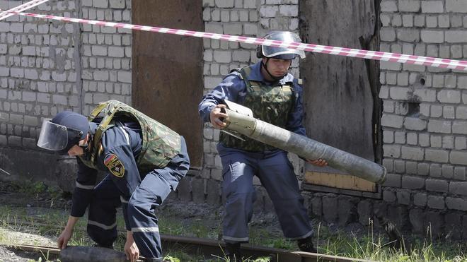 Ucrania acusa a los separatistas de lanzar una «gran ofensiva» contra el Ejército