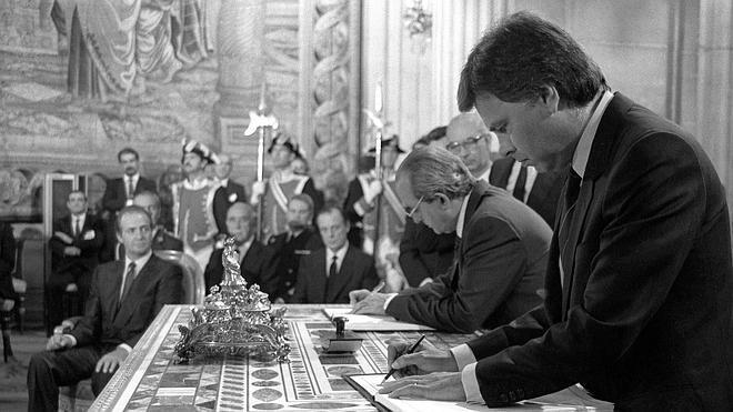 Treinta años de presencia española en las instituciones europeas