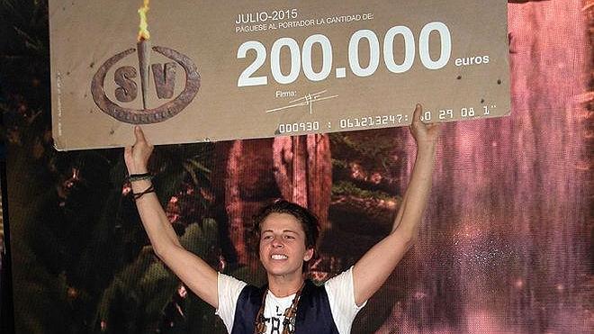 Christopher gana la final de 'Supervivientes'