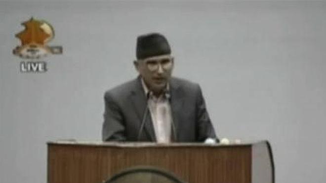 Así fue el terremoto de Nepal dentro del Parlamento
