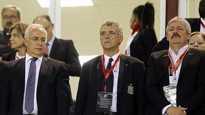 Villar, al frente de la UEFA
