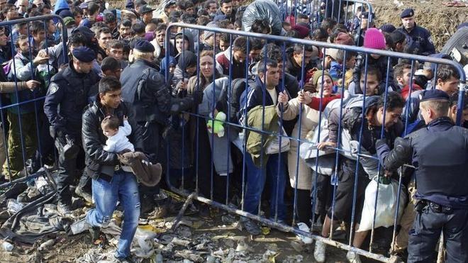 Eslovenia pide a la UE el envío de policías para hacer frente a la llegada de inmigrantes