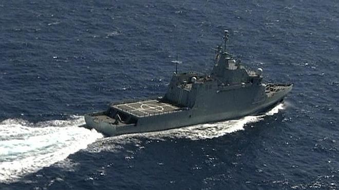 Defensa intentará este jueves izar a la superficie el helicóptero hundido en el mar