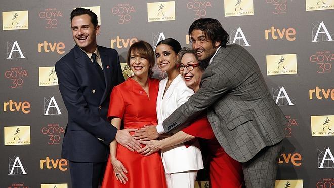 Nervios, selfies y reivindicaciones en la cena de nominados a los Premios Goya