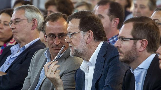 Rajoy asegura que Otegi y Arráiz «no tendrán nunca la razón legal ni moral»
