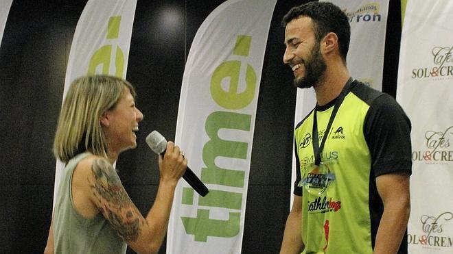 Piden matrimonio a la medallista olímpica María Vasco en plena gala 'Ultra-Tri'